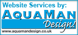 Website design in Derbyshire by Aquaman Design